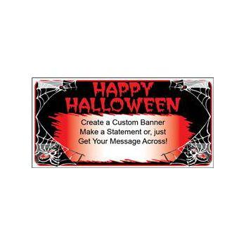 Halloween Spider Custom Banner