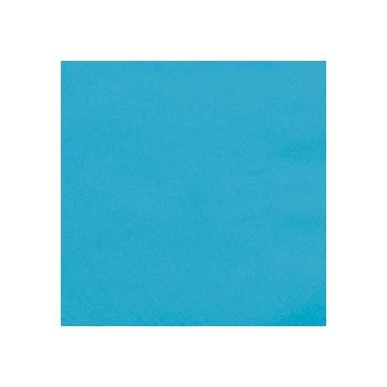 OCEAN BLUE SOLID  BEVERAGE NAPKINS