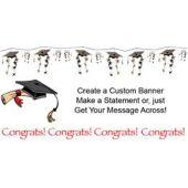 Congrats Graduate Custom Banner