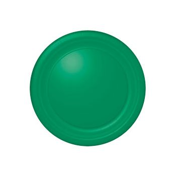 "GREEN SOLID  10 12""PLATES"