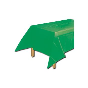 GREEN SOLID  TABLE COVER