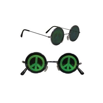PEACE HOLOGRAPHIC GLASSES