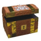 Pirate Treasure Chest Pinata And Decoration Centerpiece