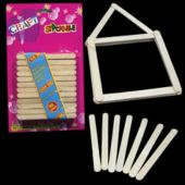Popsicle Sticks Craft Projects - 12 Pack