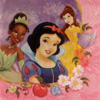 Disney Princess Beverage Napkins