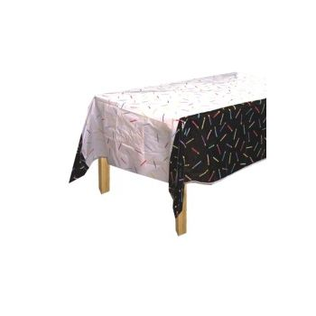 WHAT'S 1 MORE CANDLE   PLASTIC TABLE COVER