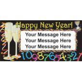 New Years Countdown Custom Banner