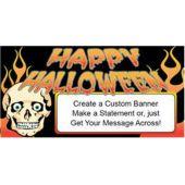 Spooky Halloween Custom Banner