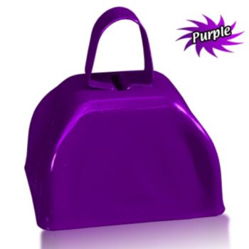 3 Inch Purple Metal Cowbells