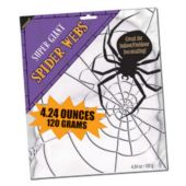 Super Giant Spider Web For Halloween Or A Scary Party