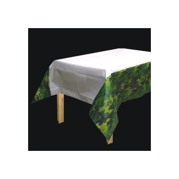 Camouflage   Paper Table Cover