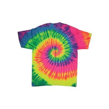 Neon Cyclone Style Adult Tye Dye