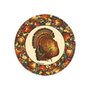 "AUTUMN TURKEY   9"" PLATES"