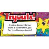 Tryouts Advertisement Custom Message Banner