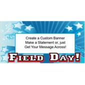 Star Field Day Custom Message  Banner