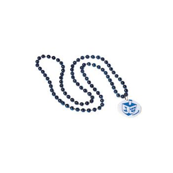 HANUKKAH BEAD NECKLACE
