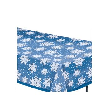 SNOWFLAKE OVERLAY TABLE COVER