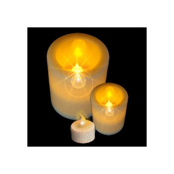 Fabulous Fake Flameless LED Candles - 3 Sizes
