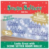 Happy Holidays Winter Wonderland Scene Setter Add Ons