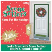 Christmas Wreath Door Prop