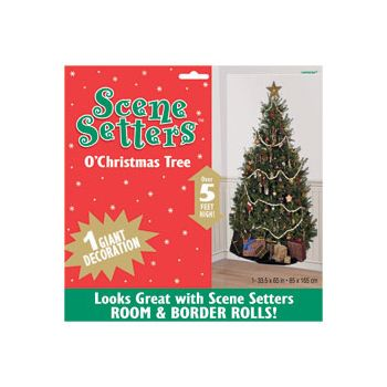 O, CHRISTMAS TREE   SCENE SETTER ADD-ON