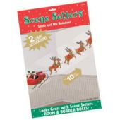 Santa And Reindeer Sleigh Scene Setter Add Ons