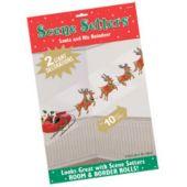 Santa And Reindeer Sleigh Scene Setter Add Ons
