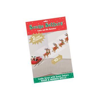 SANTA & REINDEER   SCENE SETTER ADD-ON