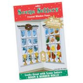 Giant Frosted Window Christmas Scene Setter Add Ons