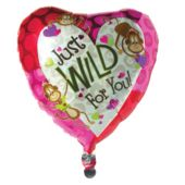 Wild For You Metallic Balloon - 18 Inch