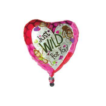 Wild for You Metallic Balloon - 18 Inch