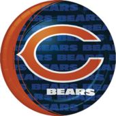 9 Inch Chicago Bears Plates