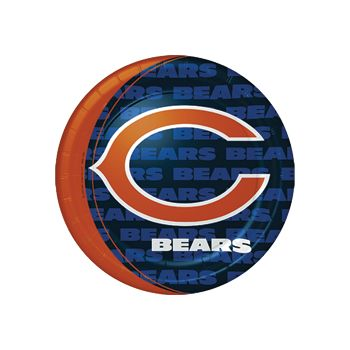 "CHICAGO BEARS   9"" PLATES"