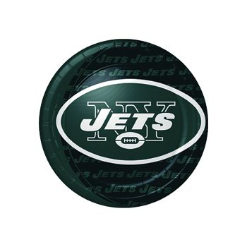 "NEW YORK JETS   9"" PLATES"