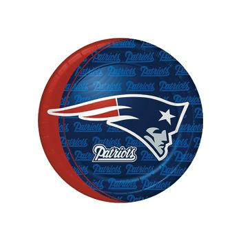 "New England Patriots  9"" Plates"