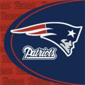 New England Patriots Luncheon Napkins