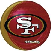 San Francisco 49ers NFL Paper Plates - 9 Inch