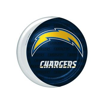 "SAN DIEGO CHARGERS   9"" PLATES"