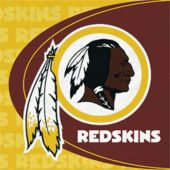 Washington Redskins NFL Lunch Napkins - 16 Pack