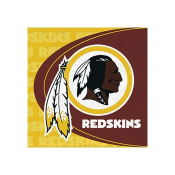 WASHINGTON REDSKINS   LUNCHEON NAPKINS