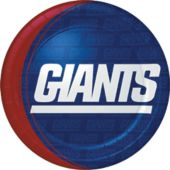 9 Inch New York Giants Plates