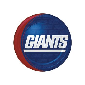 "NEW YORK GIANTS   9"" PLATES"