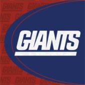 New York Giants Luncheon Napkins - 16 Pack