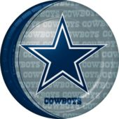 9 Inch Dallas Cowboys Plates
