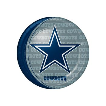 "DALLAS COWBOYS   9"" PLATES"