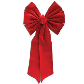 RED VELVET   DECORATION BOW