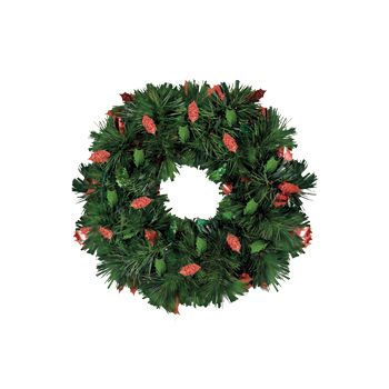 HOLIDAY PINE   TINSEL WREATH