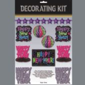 Jewel Tone New Year Decorating Kit