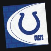 Indianapolis Colts NFL Lunch Napkins - 16 Pack