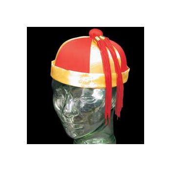 ORIENTAL MANDARIN   SATIN HAT